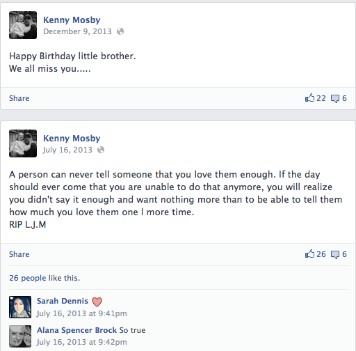 Kenny Mosby Facebook