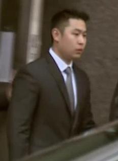Killer cop Peter Liang.